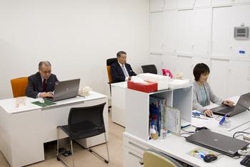 校友会 事務室